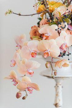 Organic wedding flor