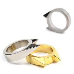 Self-defense Ring Window Breaker EDC Tool Emergency Rescue Survival Pocket Tools #Unbranded