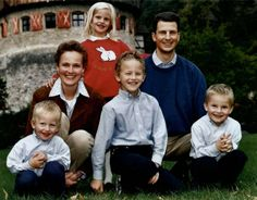 Luxarazzi:  Hereditary Princely Family of Liechtenstein, early 2000s-Hereditary Princess Sophie, Prince Nikolaus, Prince Wenzel, Princess Marie-Caroline, Hereditary Prince Alois, and Prince Georg