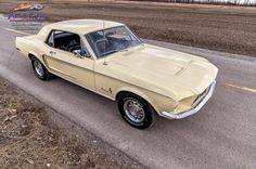 CanadianAutoNetwork.com - 1968 Ford Mustang Sprint Coupe