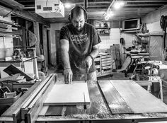 When you have an amazing photographer for a wife you get your picture taken. #artoutofeverything #woodworking #woodshop #whatido #customade #shopsmall #shoplocal #minnesotamade #maker #photography #photographer