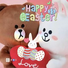 Brown Line, Happy Easter, Yoshi, Hello Kitty, Christmas Ornaments, Holiday Decor, Instagram, Amor, Happy Easter Day