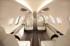 HondaJet passenger cabin