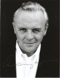 Sir Anthony Hopkins ~ I could listen to him read a phone book!