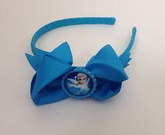 Frozen Lot of 10 Queen Elsa blue headband with bottle-cap center on Etsy, $30.00 Frozen Headband, Queen Elsa, Cap, Trending Outfits, Bottle, Unique Jewelry, Handmade Gifts, Blue, Accessories