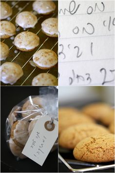 rosh hashanah cookie recipes