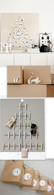 Advent Calendar DIY Round-Up by ohthelovelythings, via Flickr