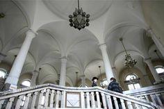 Zabytkowe wnętrze Banku Polskiego