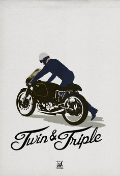 AJS PORCUPINE by lorenzo  for the french motorcycle magazine TWIN N° 1