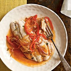 Snapper in Haitian Court-Bouillon Recipe