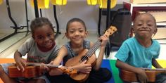 The Ukulele Kids Club Is Striking A Chord With Children In Hospitals Around the Country