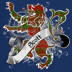 Scott Tartan Lion Dark T-Shirt by Stargazer - CafePress Castle Fraser, Fade Designs, Edinburgh Scotland, Tartan Plaid, Stargazing, Celtic, Lion, Heartland, Highlands