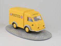 La camionnette des postes Chaland, Yves Modèle réduit  © L'Adresse Musée de La Poste / La Poste, DR