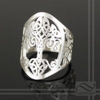 Celtic Tree of Life Ring v2.0 by mooredesign13