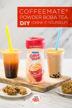 At Coffee-mate, we've been stirring things up in delicious ways for 55 years. We believe your cup is just the start. Why not try a refreshing and sweet Boba tea? You can make so much more than coffee with your favorite Coffee-mate flavors. Get this recipe and more at coffeemate.com and stir things up today!