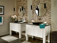 Our custom bathroom cabinets offer design and finish details one might expect in fine furniture, but not in your bathroom. Custom Bathroom Cabinets, Bath Cabinets, Bathroom Furniture, Best Bathroom Vanities, Small Bathroom, Bathroom Ideas, Bath Ideas, Boy Bathroom, Guest Bathrooms
