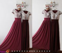 Burgundy Prom DressSexy Prom Evening Formal DressSequin