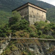 Castle of Verres, Italy