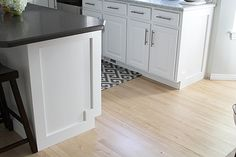 HOW TO ADD MOULDING TO A KITCHEN ISLAND - withHEART