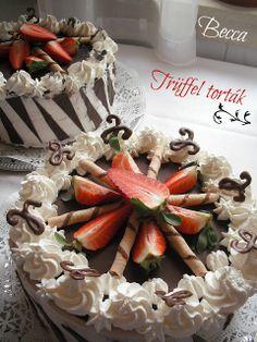 Trüffel torták