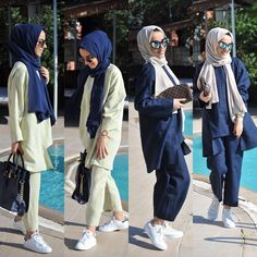 to the rightful owner Arab Fashion, Islamic Fashion, Muslim Fashion, Modest Fashion, Girl Fashion, Casual Hijab Outfit, Hijab Chic, Muslim Girls, Muslim Women