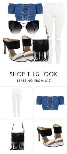 """""""Untitled #71"""" by alexastraznova on Polyvore featuring Topshop and WithChic"""