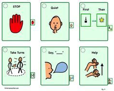 Victories and Autism- Lots of great printables and visual tools!