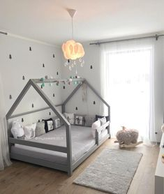 Gray TERY Cabin Bed - BellyStar - ideas for children& room 2019 . - Gray TERY Cabin Bed – BellyStar – ideas for children& room 2019 – dec - Toddler House Bed, Boy Toddler Bedroom, Baby Bedroom, Baby Boy Rooms, Baby Room Decor, Toddler Boy Room Ideas, Toddler Boy Beds, House Beds For Kids, Floor Beds For Toddlers