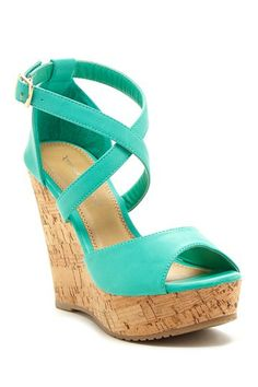 Joan Wedge Sandal by Fashion Focus on @HauteLook