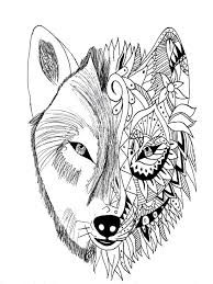 Image Associee Tattoo Coloring Book Animal Coloring Pages Detailed Coloring Pages
