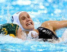 """""""HUUUUUUUR DUUUUUUR, I'M AN OLYMPIC!"""" I love the athlete faces and, luckily, there's 49 more to enjoy."""