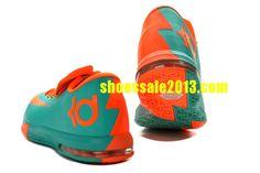 new concept c7d8d 4d757 Shop Half Off Nike KD VI Tropical Twist Teal Orange Blue 599424 040 Cheap  Kevin Durant Shoes