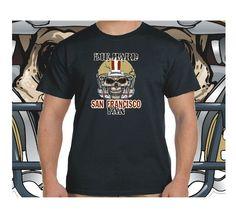 San+Francisco+Die+Hard+Fan+Black+T-Shirt+100%+Cotton