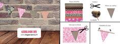 Aujourd'hui c'est #DIY avec un tuto sympa autour de la création de guirlande pour un #mariage ou une fête d'anniversaire avec des tissus du site.