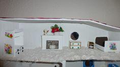 La chambre à coucher sous le toit.