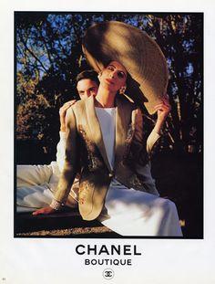 Chanel (Boutique) 1989 Inès de la Fressange Hats