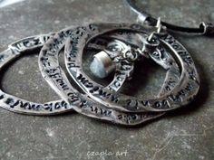 http://polandhandmade.pl/ #polandhandmade #metalclay , #czapla art