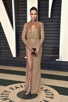 Adriana Lim in LaBourjoisie - 2017 Vanity Fair Oscars after party