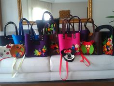 Keçe çanta-felt bag