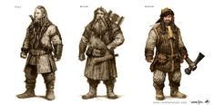 The Hobbit An Unexpected Journey concept art by Nick Keller