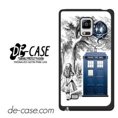 Alice In Wonderland Ceshire Cat Police Box Us DEAL-513 Samsung Phonecase Cover For Samsung Galaxy Note Edge