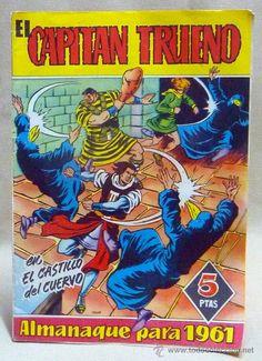 """""""El Capitán Trueno"""" Comic españa 1961."""