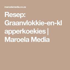 Resep: Graanvlokkie-en-klapperkoekies | Maroela Media Cooking, Cakes, Kitchen, Recipes, Cake Makers, Kuchen, Cake, Pastries, Torte