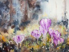 veredit - art©: Spring arrived at the dark Woods