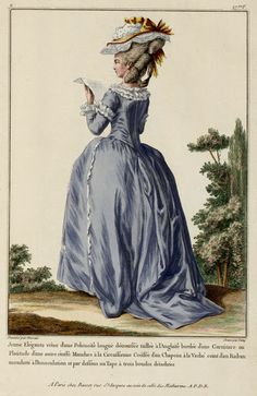EKDuncan - My Fanciful Muse: 1778 Robe à la Française and More French Fashion Plates