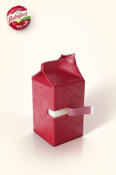 Babybel - 98% milk. #advertising #print #ad