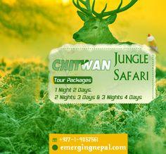 Nepal Jungle Safari Tour Package http://www.emergingnepal.com/chitwan-jungle-safari.html