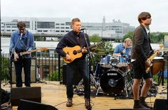 Blur performing new song 'Under The West Way'