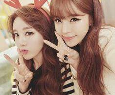 me and my sister so cute hehehe saranghae <3