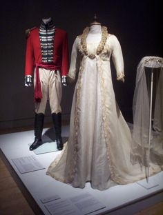 Colonel Brandon and Marianne wedding outfits!